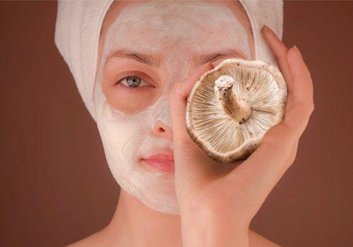 Mushroom benefits for skin - homemade masks