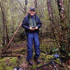 Tasmanian mushroom forager - Bronek Burza